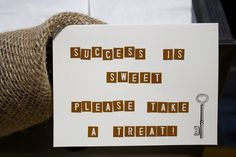 Keys to Success Graduation Partyhttp://stylishlysweetevents.blogspot.com/2013/06/keys-to-success-graduation-party.html