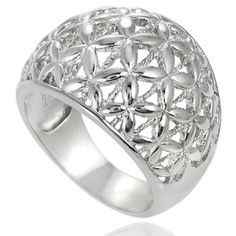 @Overstock - Tressa domed ring Sterling silver jewelry Click here for ring sizing guidehttp://www.overstock.com/Jewelry-Watches/Tressa-Sterling-Silver-Domed-Ring/7604268/product.html?CID=214117 $44.99