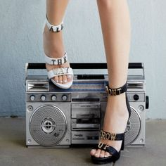 What's hot! Jeffrey Campbell.