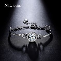 Find More Chain & Link Bracelets Information about NEWBARK Luxury Hearts…