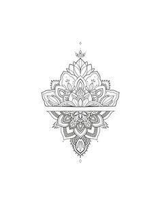 Arm Tattoos For Women Forearm, Mandala Tattoos For Women, Mandala Hand Tattoos, Small Mandala Tattoo, Mandala Tattoo Design, Tattoo Designs, Lotus Mandala, Henna Inspired Tattoos, Boho Tattoos