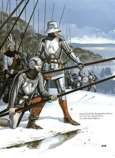 The Swiss at War 1300–1500 - Pikemen of the Burgundian Wars Osprey Publishing
