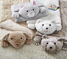 Faux Fur Sleeping Bags | Pottery Barn Kids
