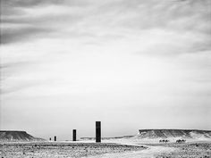 richard serra - east-west, qatar, 2014