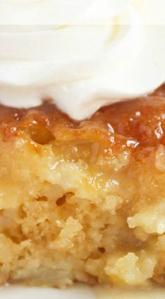 Easy Pineapple Poke Cake