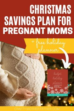 Want to save money this holiday season? See how our tips can help moms who are expecting baby keep costs low this holiday season. If Christmas pregnancy is upon you - save money by budgeting these things and helping your family and friends along the way. Chrsitmas Pregnancy, pregnant in the winter. Fall pregnancy, Christmas pregnancy. #christmas #pregnant