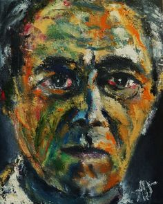 "Portrait of Hans Richter, Oil on Canvas 10x8"",  © Copyright 2012 Alan Derwin"