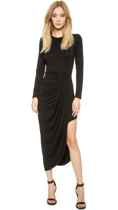 Bless'ed are the Meek Waterfall Dress