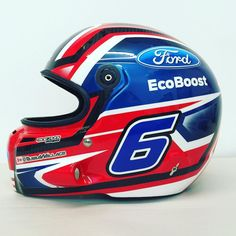 #BEAMdesigns @bubbawallace @fordperformance @stilohelmets @nascar #nascarhelmets #qualityhelmetpainting by beamdesigns