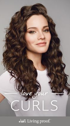 Embrace your natural curls with Living Proof's curl collection.
