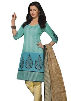Cotton Dress Materials ONLY for 1,099/-  Free Shipping * Easy Returns * Cash on Delivery!!  Shop Here: http://www.ethnicqueen.com/product/cotton-rout-23/