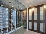 Vintage View Wine Racking - modern - wine cellar - vancouver - by Blue Grouse Wine Cellars Glass Wine Cellar, Wine Cellar Racks, Home Wine Cellars, Wine Cellar Design, Vintage View Wine Racks, Vancouver, Modern Wine Rack, Wine Cellar Basement, Basement House