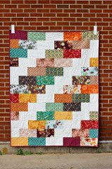 Side Braid Quilt Pattern - Big Braid | by Jeni Baker | In Color Order