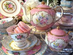 ❧ Perhaps it is while drinking tea that I most of all enjoy the sense of leisure...