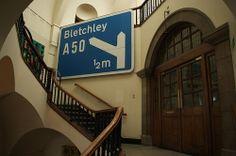 CLR: GB motorway sign | Flickr - Photo Sharing! Motorway Signs, Barbican, Interiors, Building, Blue, Design, Buildings, Decoration Home