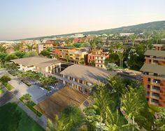 Beauséjour ZAC: Tropical Town Urban Development Proposal / Tekhnê Architects