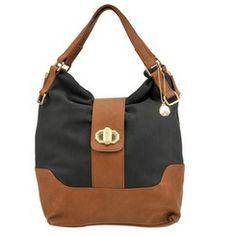 Big Buddha Cassia Color Block Hobo Bag   shoemall   free shipping! Jessica's Pick from #ShoeMall