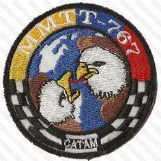 Parche equipo B767 MMTT, Jupiter. CATAM AFB, Bogotá