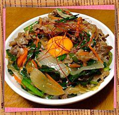 炒めるだけで出来る、お手軽丼! - 46件のもぐもぐ - スタミナ丼 by aiaiaiaiaiaimou