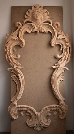 Unique Wood Carving Furniture for Your Home Decoration. Before entering the discussion I will provide an explanation of the benefits that are obtained when a person makes the . Wood Carving Art, Wood Art, Molduras Vintage, 3d Cnc, Carving Designs, Wood Sculpture, Wood Crafts, Wood Projects, Picture Frames