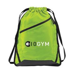 10GYM Cinch Backpack $12.99 #youcandoit http://10gym.com/shop