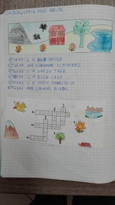 Uso di there's e there are-Classe terza-settembre/ottobre - Maestra Anita Kids Writing, Primary School, Bullet Journal, Teacher, English, Projects, Reading, Children, Book