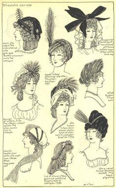 Village Hat Shop Gallery - Regency - Chapter 12 - Directoire 1795-1799 :: 193_G
