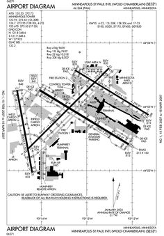 Miami international airport map print this up before leaving msp airport runway map ccuart Image collections