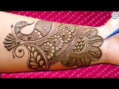 Presents, Dulhan Mehndi Design for Full Hand. In This Video You Will Learn How to make Dulhan Mehndi Design For Full hands. Latest Arabic Mehndi Designs, Full Hand Mehndi Designs, Henna Art Designs, Stylish Mehndi Designs, Mehndi Designs 2018, Mehndi Designs For Beginners, Mehndi Designs For Girls, Mehndi Design Photos, Wedding Mehndi Designs