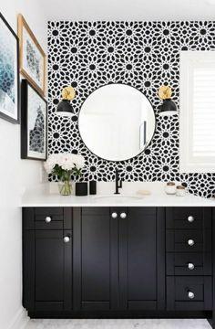 badezimmer einrichtung schwarze vertikale seiten
