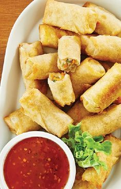 Low FODMAP and Gluten Free Recipe - Vegetable spring rolls… Fodmap Recipes, Gf Recipes, Dairy Free Recipes, Cooking Recipes, Healthy Recipes, Fodmap Foods, Fructose Free Recipes, Thai Cooking, Thai Recipes