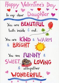 Printable valentines cards for daughter my free printable cards happy valentines day to my daughter quotes images 2017 valentine wishes for daughter valentine messages to daughter love greetings for my daugther m4hsunfo