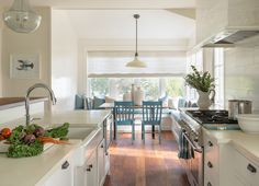 kitchen + breakfast nook | Martha's Vineyard Interior Design