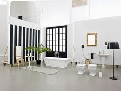The.Artceram Blues collection Meneghello PAoelli Associati  #bathroom #bathtub #sanitaryware #washbasin