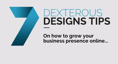Learn how you can Grow Your Business with tips from Dexterous Designs Website & Graphic Design in Taunton, Somerset. Marketing and Digital Media & Web Design for small and large businesses. Media Web, Dexter, Growing Your Business, Digital Media, Understanding Yourself, Read More, Online Business, Web Design, How To Get
