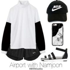 Airport with Namjoon