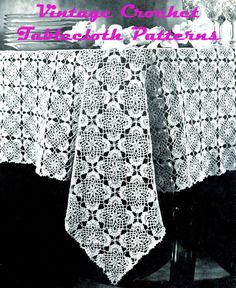 Vintage Crochet Tablecloth Patterns