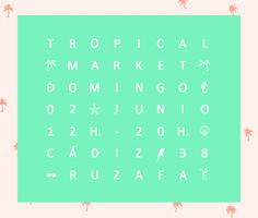 tropical MARKET // KAUF vintage · 02 junio 2013 Periodic Table, Diagram, Ads, Tropical, Design, Vintage Clothing, Shirts, June, Periodic Table Chart