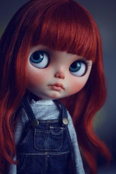 Noreen Penguinbabydolls OOAK Custom Blythe by Penguinbabydoll