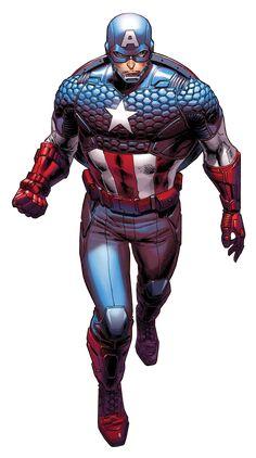 Captain America (Steve Rogers) by Dustin Weaver Marvel Comics, Marvel Vs, Marvel Heroes, Captain Marvel, Capitan America Marvel, Captain America Art, Comic Book Characters, Marvel Characters, Comic Character