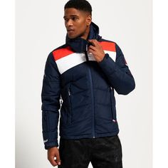 Superdry Ski Command Traverse Down Jacket from Superdry on 21 Buttons