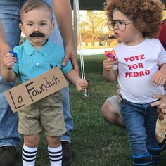 Napolean dynomite and kip Halloween costumes