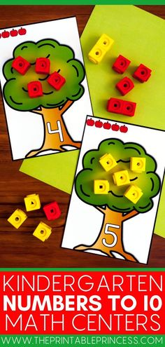 This resource contains tons of different activities to help your students practice numbers to 10 using hands-on activities that are interactive, kid-friendly and SUPER easy to prep. They are perfect for centers, morning tubs, fast finisher activities, and more. Activities include, games, centers, matching activities, number sorts, pocket chart activities, and SO much more! Teaching Numbers, Numbers Kindergarten, Numbers 1 10, Math Numbers, Hands On Activities, Math Activities, Number Recognition Activities, Fast Finishers, Student Learning