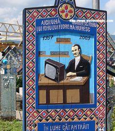 Weird Happy Cemetery Sapanta Romania