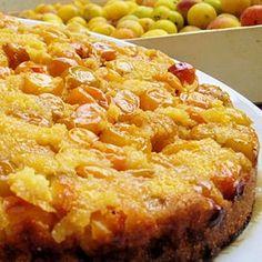 Gâteau renversé aux mirabelles : 45 recettes avec des mirabelles - Journal des Femmes