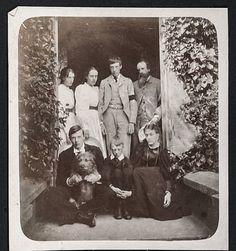 Stephen Family 1895 after their mother Julia's death.