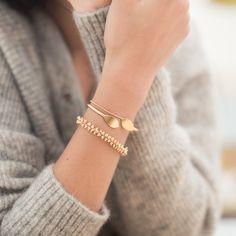 Combinaison jonc Eva bracelet Paulette et Henriette