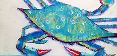 kathy-frosio-12x24-crabby-original-painting-can-ship-4.gif (625×302)