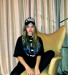 Thylane Blondeau, French Models, Girl Crushes, Aesthetic Clothes, Cute Girls, Wattpad, Photoshoot, T Shirts For Women, Celebrities