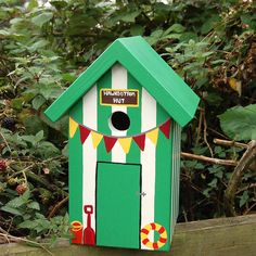Box by Lindleywood. a home needs bunting however small it is.